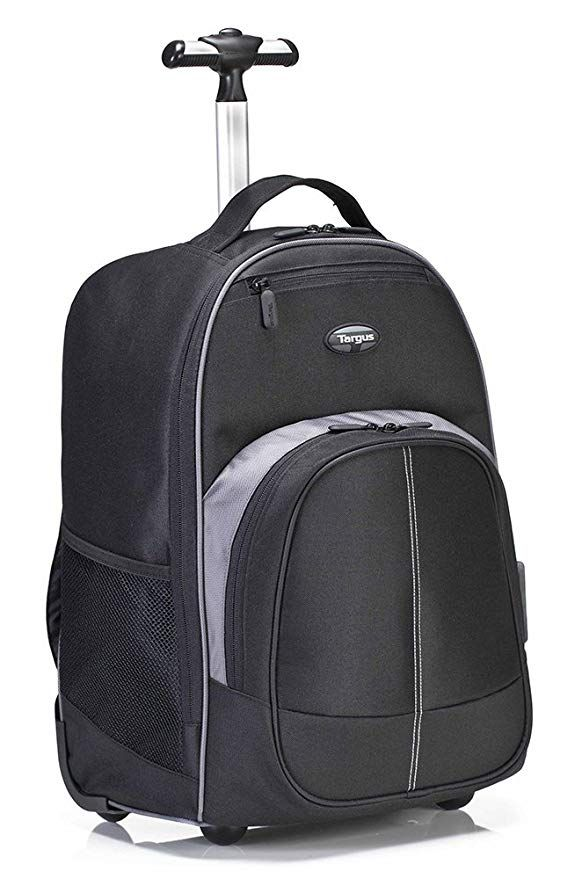 0a0bca112c9c Targus Compact Rolling Backpack for 16-Inch Laptops, Black (TSB750US ...