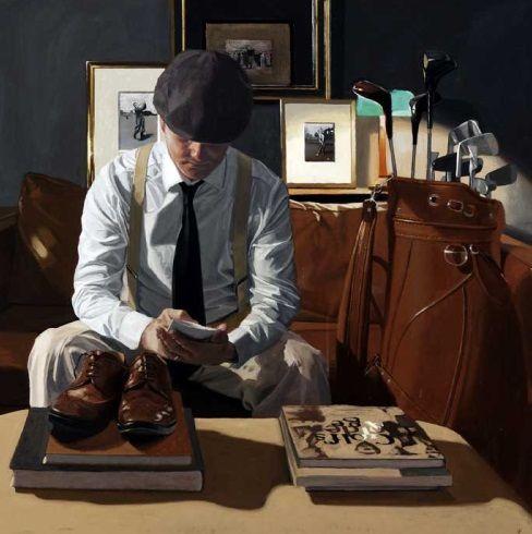 Iain Faulkner Score Card Signed Limited Edition Print | Scottish Contemporary Art