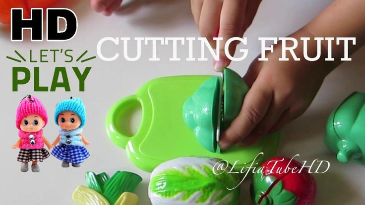Mainan Anak Buah Potong Plastik - Toy Cutting Fruit World Cooking Kitche...