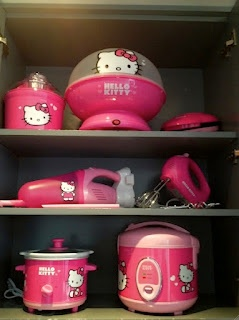 For the hello kitty obsessed person. I have a few of those friends lol.  I guess it's sold through target.