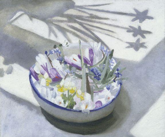 Winifred Nicholson on blog indigo pears