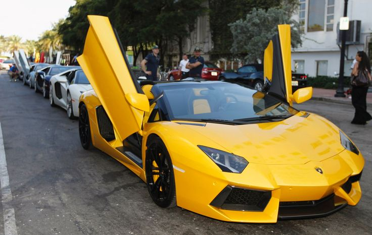Lamborghini Aventador Roadster       The Lamborghini Aventador will go from standing to 60 in just 2.9 seconds and attain a top speed of 217 mph, thanks to its 750 horsepower V12 engine.  Estimated Price: US $400,995
