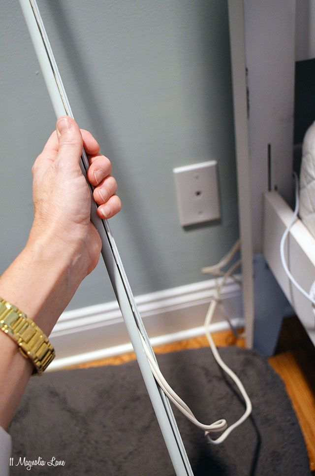 Hide an ugly electric cord for $5