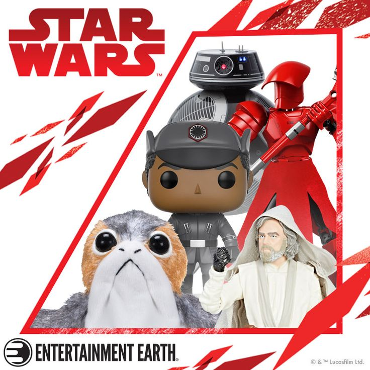 Star Wars Is Back for Force Friday II! Friday, September 01, 2017  You don't need to use the Force - just click here with your finger to see hundreds of new Star Wars toys, props, and collectibles from Star Wars' latest chapter, The Last Jedi. You'll delight in meeting the porgs, Rose, and a new droid that looks sort of like BB-8. What's its deal? Find out in December, but pick up these toys for yourself today!
