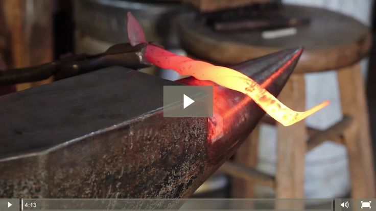 VIDEO Blacksmithing Guide - How to Become a Blacksmith | The Best Guide For Forging DIY and Self-Sufficiency Skills By Pioneer Settler http://pioneersettler.com/video-blacksmithing-guide-intro-to-blacksmithing/