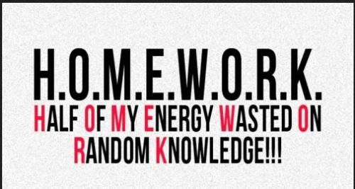 funny school quotes - Google Search  I don't agree with the concept of homework! At least not till high school and some in middle school!