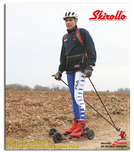 Skirollo Rollerskis, per sciare in tutte le stagioni... - Visita www.skirollo.com