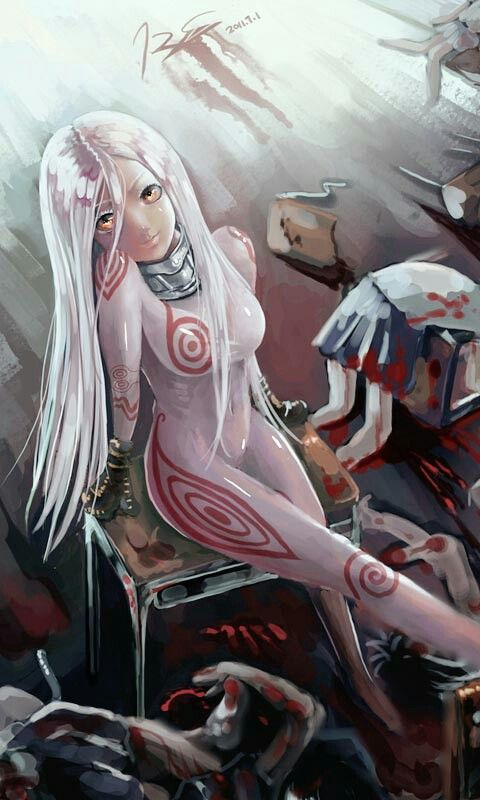 Shiro (Deadman Wonderland) source: zerochan #anime #fanart
