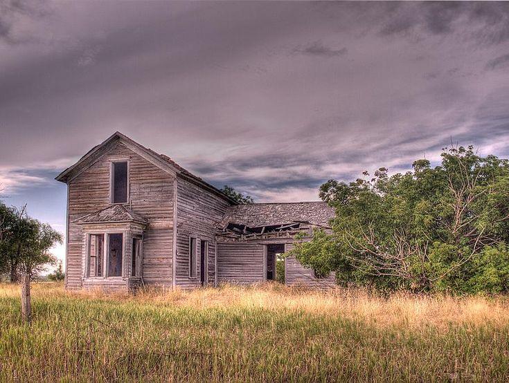 Old Farmhouse Photograph  - Old Farmhouse Fine Art Print