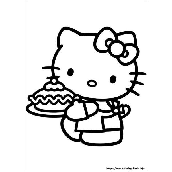 Excelente Cupcakes Hello Kitty Para Colorear Ilustración - Ideas ...