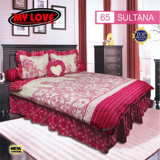 Sprei Set (King 180×200) motif Sultana Premium Lembut. Takut tidak sesuai Ukuran (kekecilan/kebesaran) ??? Kami beri garansi 30 Hari.