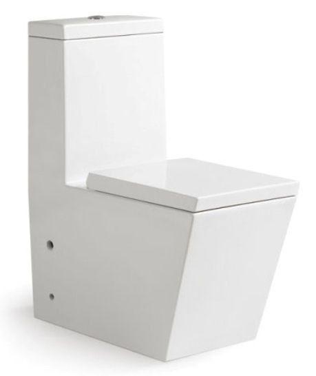 "One Piece Toilet - Modern Bathroom Toilet - Dual Flush Toilet - Americo - 26""   Home & Garden, Home Improvement, Plumbing & Fixtures   eBay!"
