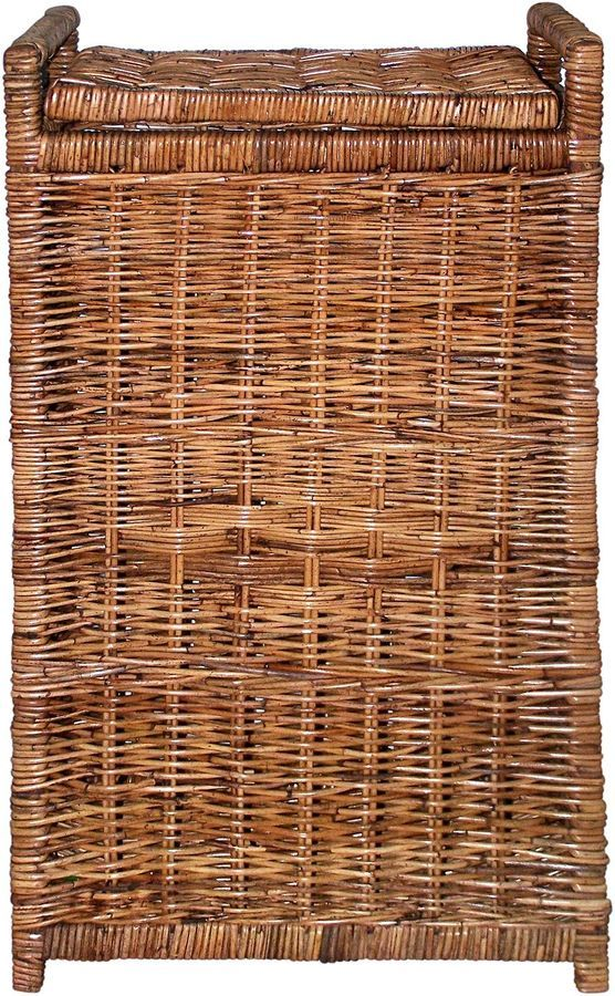 Cane Design Tall Laundry Basket, Natural on shopstyle.com.au