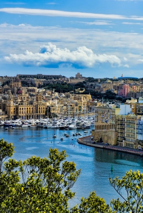 Vittoriosa Marina, Malta. I legitimately know someone who just moved here. FREE PLACE TO STAY!!!