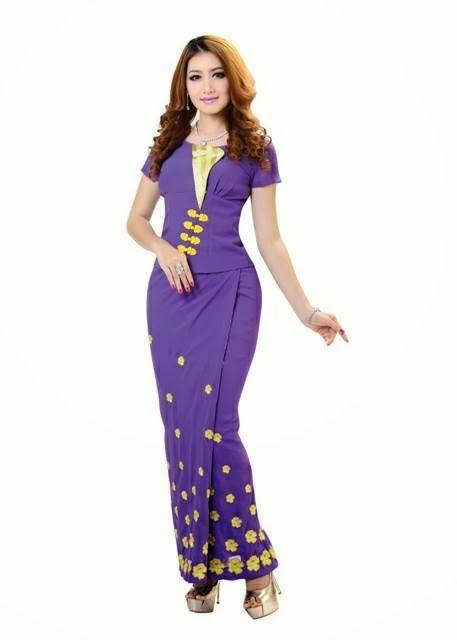 Yu Thandar Tin - I Love Myanmar Dress
