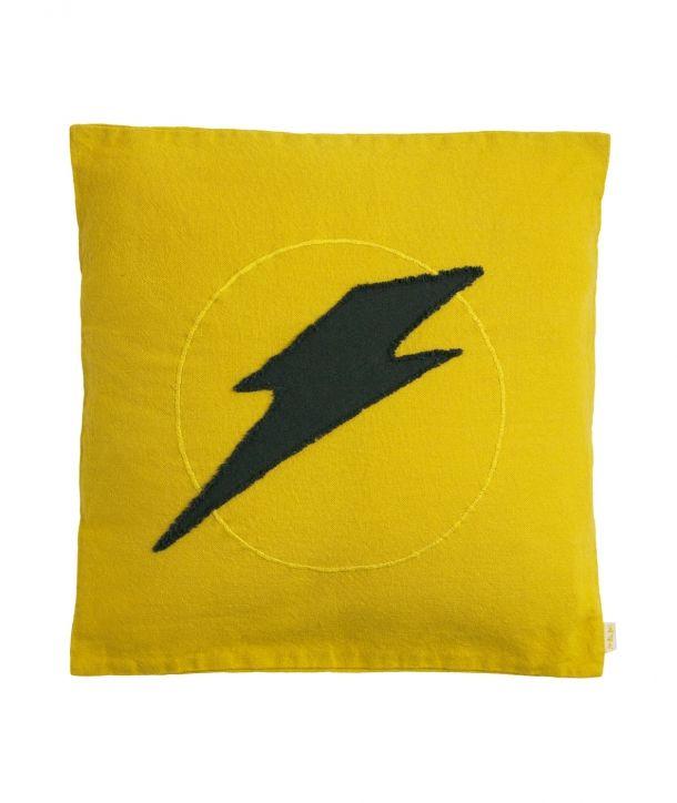 Cushion Super Hero sunflower yellow