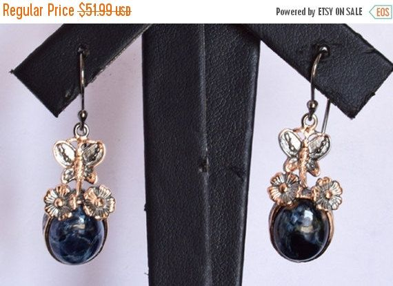 Fashionable Pietersite Earring, 925 Solid Sterling Silver Gemstone Jewellery, Pietersite Gemstone, Designer Jewelry, INC-165