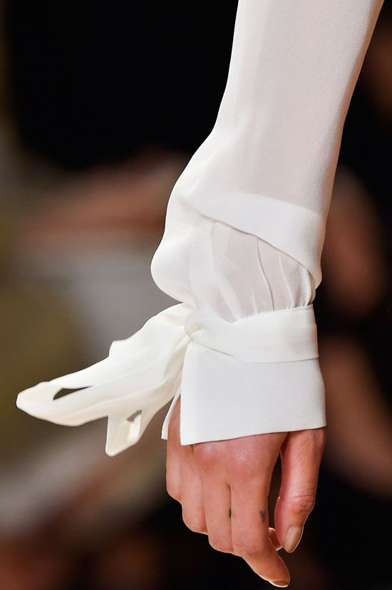 via fashioned by love: Nina Ricci Spring/Summer 2015 details paris fashion week ss 15
