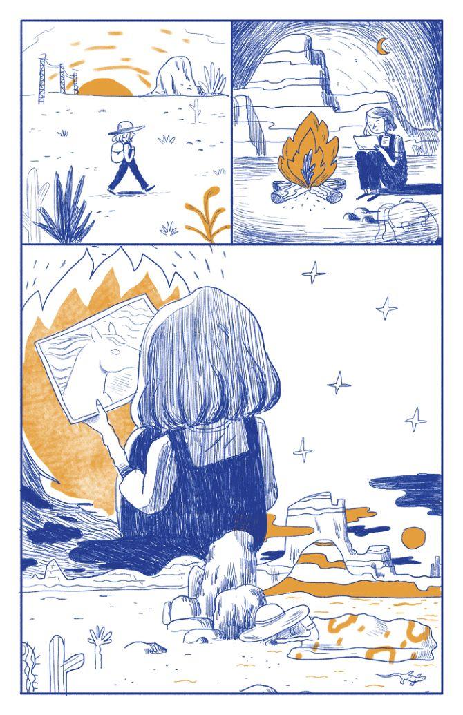 STEEPEST DESCENT - Aleks Sennwald Illustration