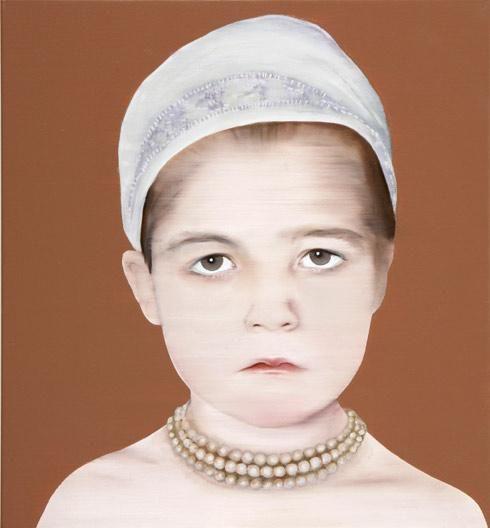 Katinka Lampe, untitled *(605081), 65x60 cm, 2008, golden age (2008)