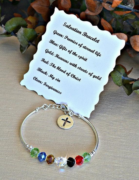 Crystal Salvation Bracelet by HeartofGems on Etsy, $21.00