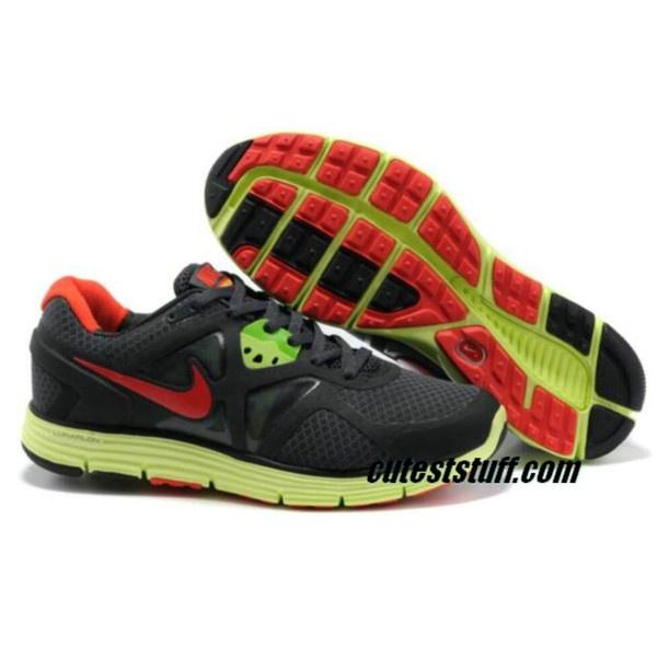 ️Mens Nike Lunarglide 3 Black sneaker with bright yellow and red colors  too. In GUC. Size First picture is stock photo. rest are of actual sneakers <h2>35 best Shoes images on Pinterest &#124; Flats, Nike tennis shoes and</h2> <div class=