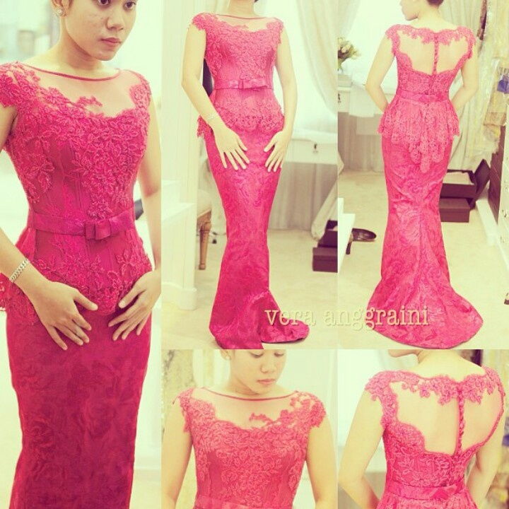 Pretty in Pink Kebaya by House of Vera