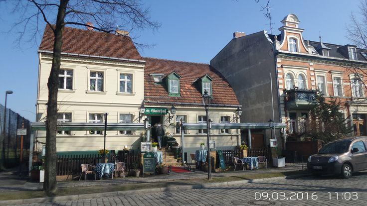 """Alter Dorfgasthof  """"Zur grünen Linde"""" in Marienfelde"""