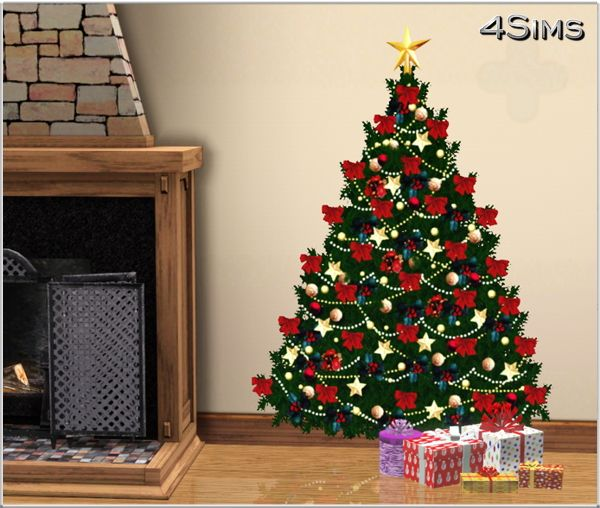 Sims 3 Seasons Christmas Tree