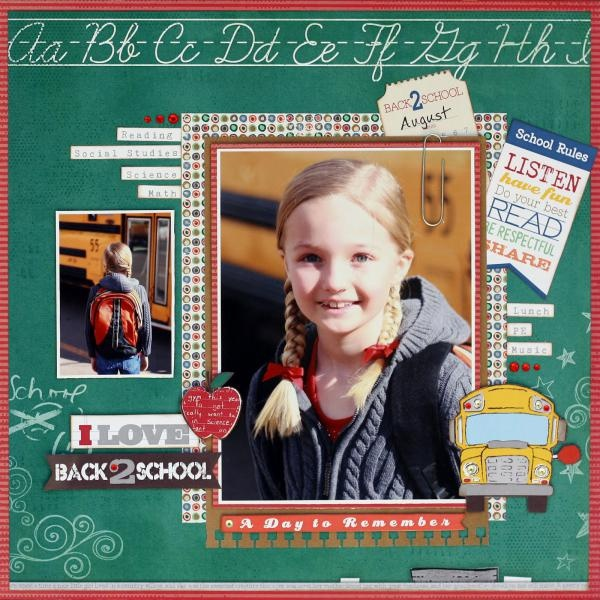 Don't want to think about back to school, but cute.