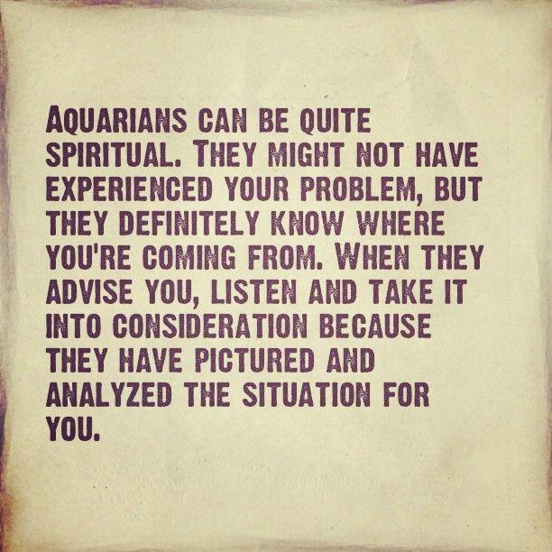 Aquarius!