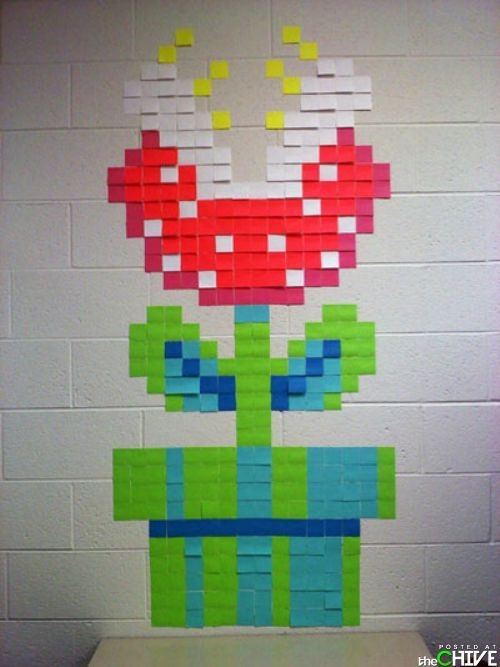 nice way to use post-it note