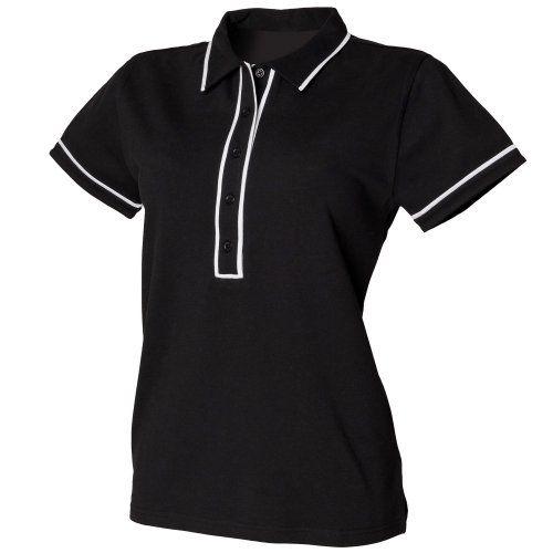 (スキニーフィット) Skinni Fit レディース ファッション コントラスト パイピング 半袖ポロシャツ トップス カットソー Tシャツ 女性用 - http://selectshop.link/ladys/%e3%82%b9%e3%82%ad%e3%83%8b%e3%83%bc%e3%83%95%e3%82%a3%e3%83%83%e3%83%88-skinni-fit-%e3%83%ac%e3%83%87%e3%82%a3%e3%83%bc%e3%82%b9-%e3%83%95%e3%82%a1%e3%83%83%e3%82%b7%e3%83%a7%e3%83%b3-%e3%82%b3/