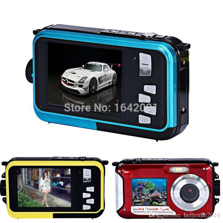 High Quality Waterproof 24MP Digital Camera Double Screens Mini Camera HD Camcorder W/ 1080P CMOS 16x Zoom 24MP Digital Camera Waterproof Camera 1080P HD Camcorder Online with 88.0/Set on Hellenhe2016's Store | DHgate.com