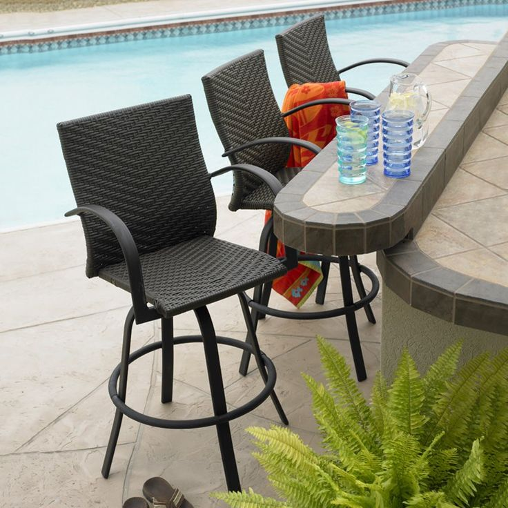 15 best patio bar stools images on pinterest patio bar stools
