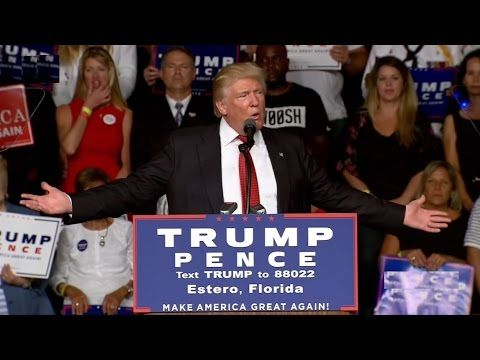 Full Speech: Donald Trump HUGE Rally in Fort Myers, Florida (9/19/2016) ...