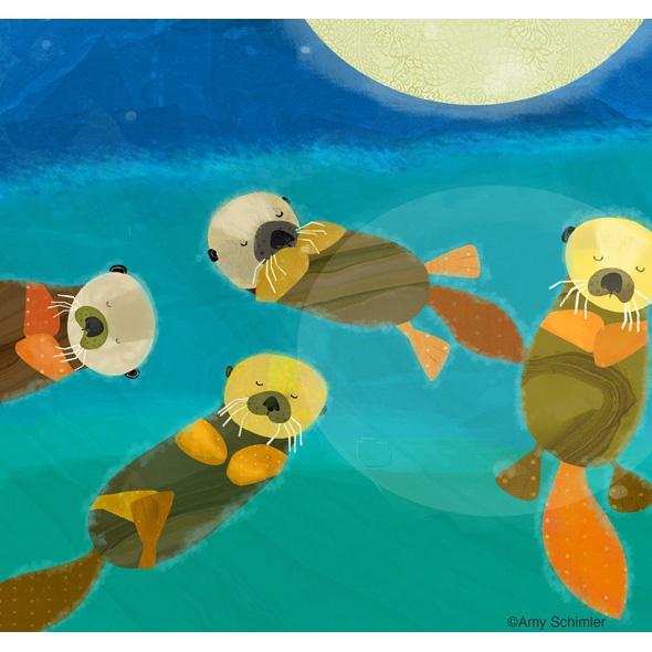 Otters  LOVE @Amy Schimler art ;)
