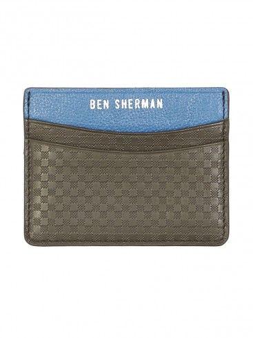 Ben sherman £25 Gingham Emboss Cardholder