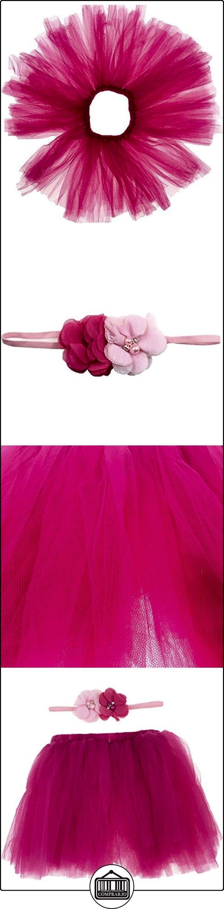 Tyidalin Bebé Niña Falda Corta + Cinta Falda del tutú de Ballet Fotografía Traje 0-6M Rosa  ✿ Regalos para recién nacidos - Bebes ✿ ▬► Ver oferta: http://comprar.io/goto/B01NCHMQYW