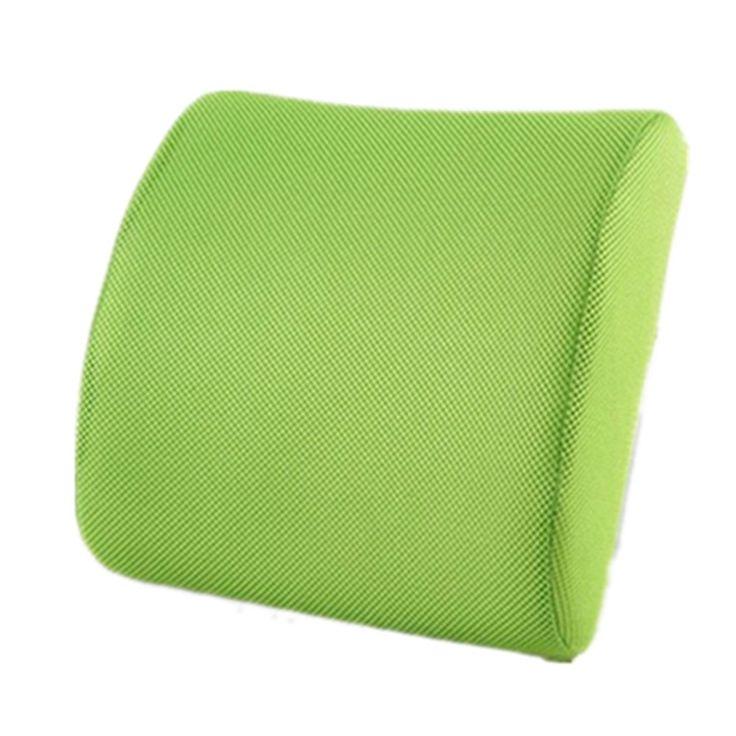 Back Support Cushion Pillow Memory Foam Lumbar Office Home