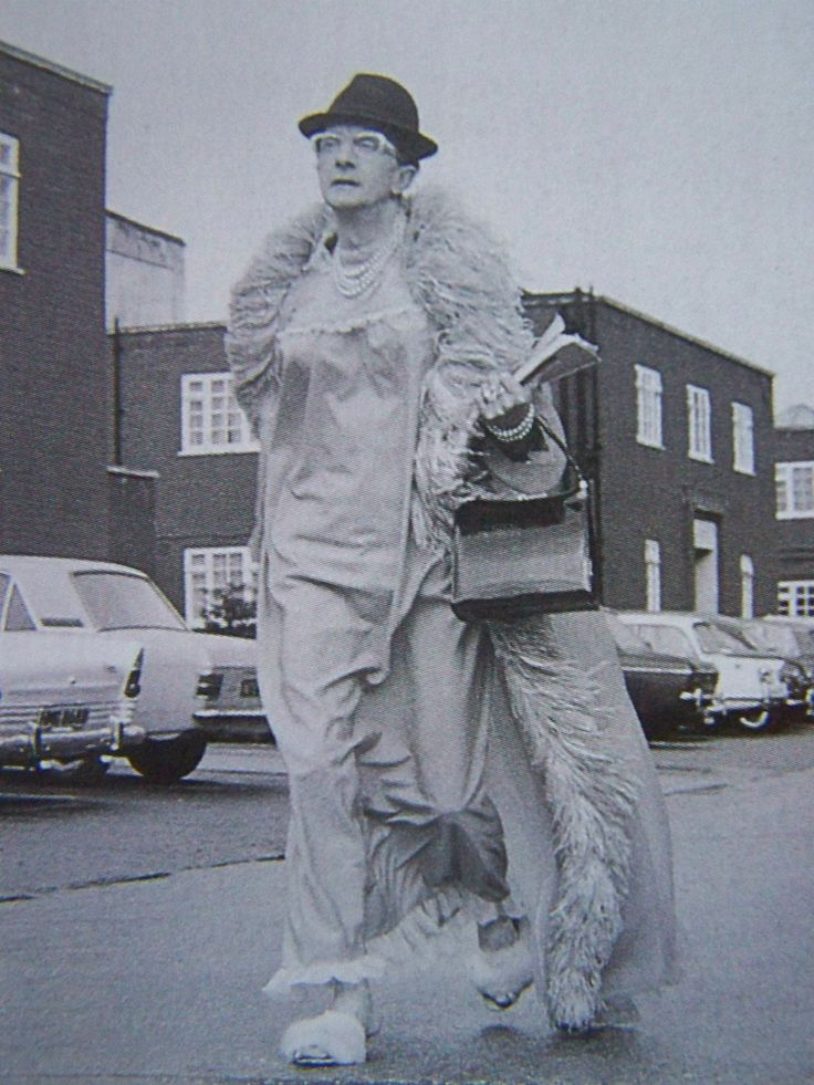 Charles Hawtrey - On his way to the set of Carry On Again Doctor