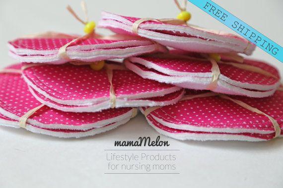 Nursing Pads Breast Pads Washable Reusable Breastfeeding Pads Nursing Mom Reusable Bamboo Pads shop: Breastfeeding Cover Nursing Scarf,