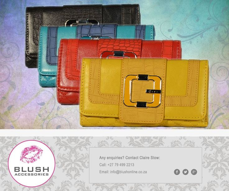 We simply love these #stylish purses! So much more available from your nearest Blush store! #accessories #purse #Blush #southafrica