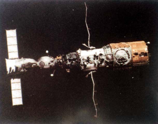 Image result for salyut 4 reentry