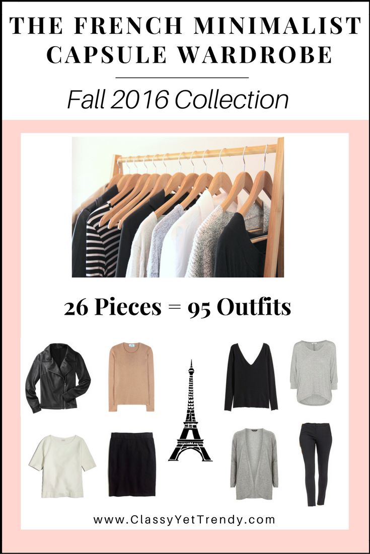 The Fall 2016 eBook has expired… Click Here To Get the new ebook! The French Minimalist Capsule Wardrobe: Fall 2017 Collection © 2017 Classy Yet Trendy
