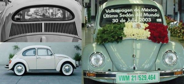 2003: último 'vocho' producido en México y el mundo