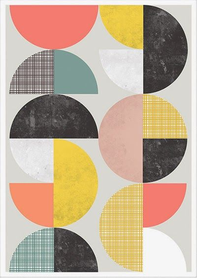 print & pattern, retro, print, design, mark making, colour, abstract