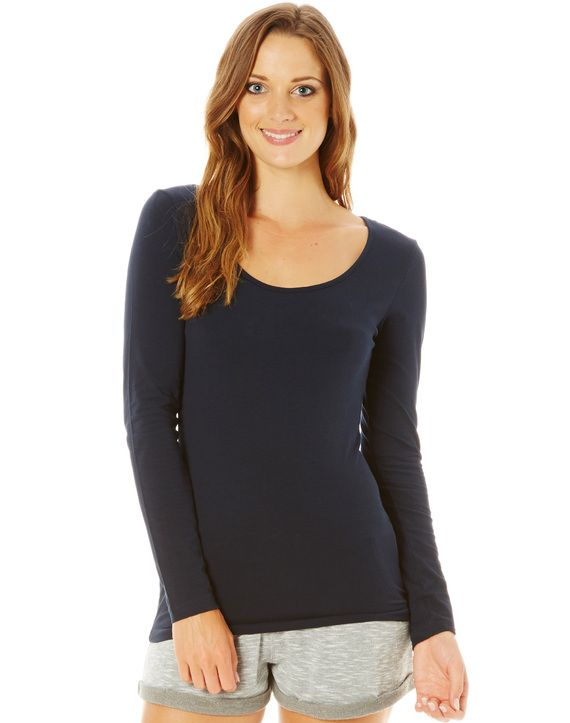 Cotton Blend Longsleeve Top, New Year Savings Free Shipping with Glassons Coupon codes and Glassons Promo Codes.