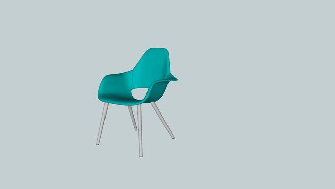 Vitra Organic chair - 3D Warehouse