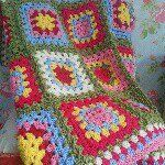 """Sarah on Instagram: """"I love this blanket, it's possibly my favourite make so far. .but it looks like it is possibly leaving me to go to a new home...♥ #crochet #crochetblanket #crochetaddict #crochetmachine #specialstylecraft #stylecraftyarns #grannysquare #hookywork #handmade #craft #cathkidston #shabbychic #modernvintage"""""""